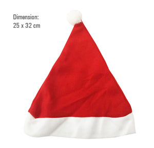 MINISO Christmas Hat Set 2PC (Large & Small)