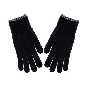 MINISO x Winter Series - Classic Men's Knitted Winter Gloves