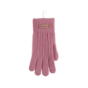 MINISO x Winter Series - Women's Classic Knitted Winter Gloves, Random Color