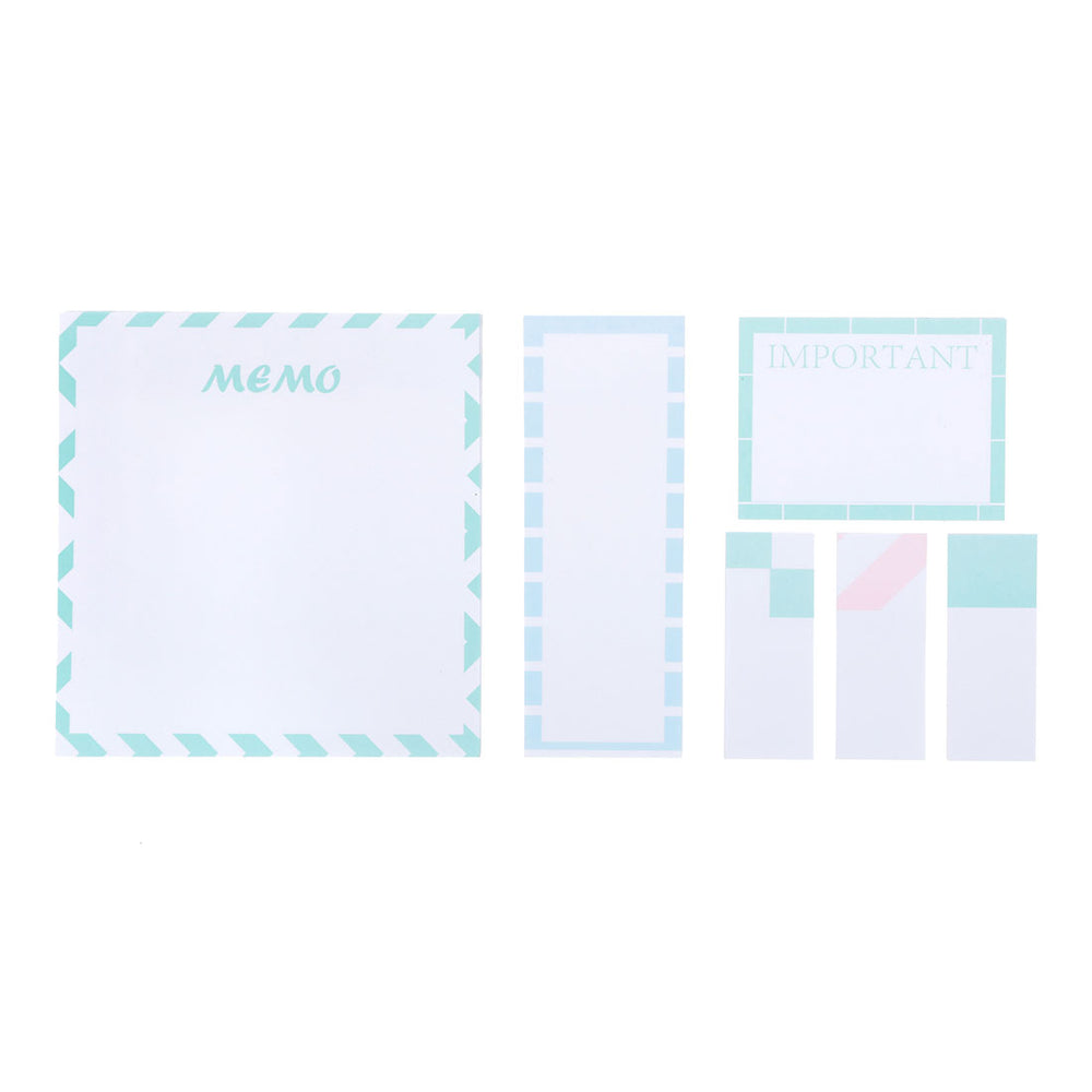 Load image into Gallery viewer, MINISO Boxed Notepad Set (80*6 Sheets)