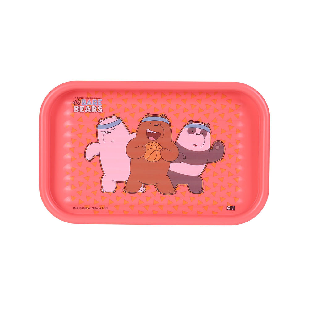 MINISO x We Bare Bears- Stationery Tray Drawer Organizer (Red)