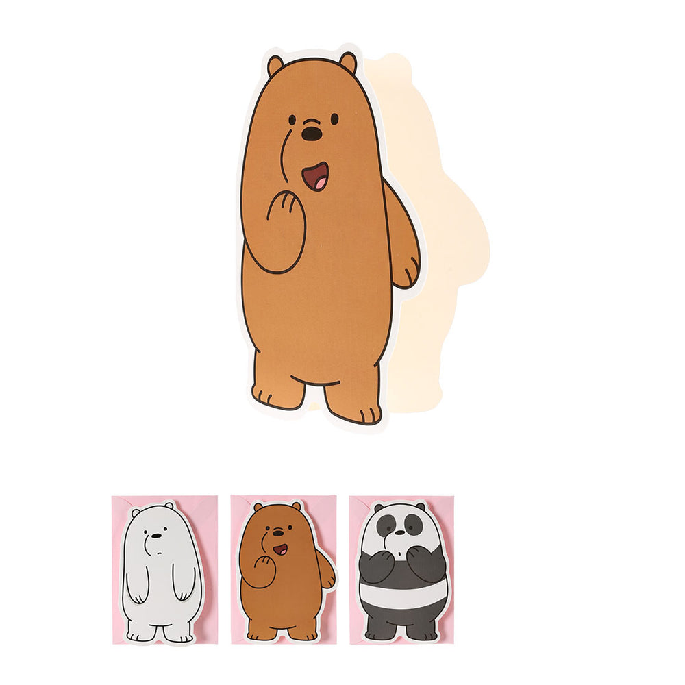 MINISO x We Bare Bears - Greeting Card