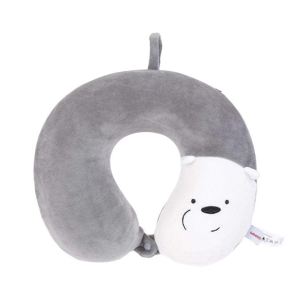 MINISO x We Bare Bears - Soft Cute Travel Neck Pillow