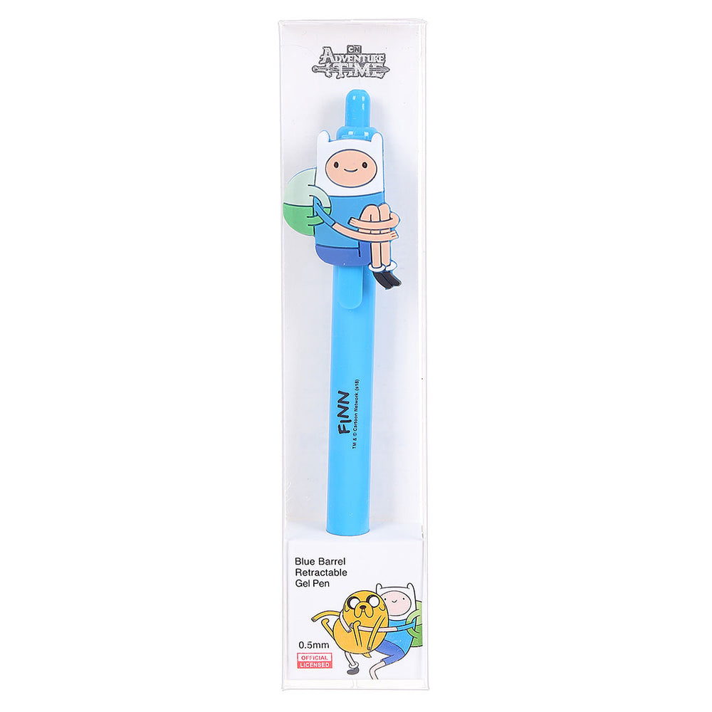 Load image into Gallery viewer, MINISO x Adventure Time - Barrel Retractable Gel Pen 0.5 mm Black Ink