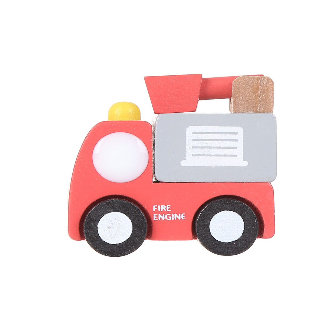 MINISO Wooden Model Vehicle Toy Toddler, Red