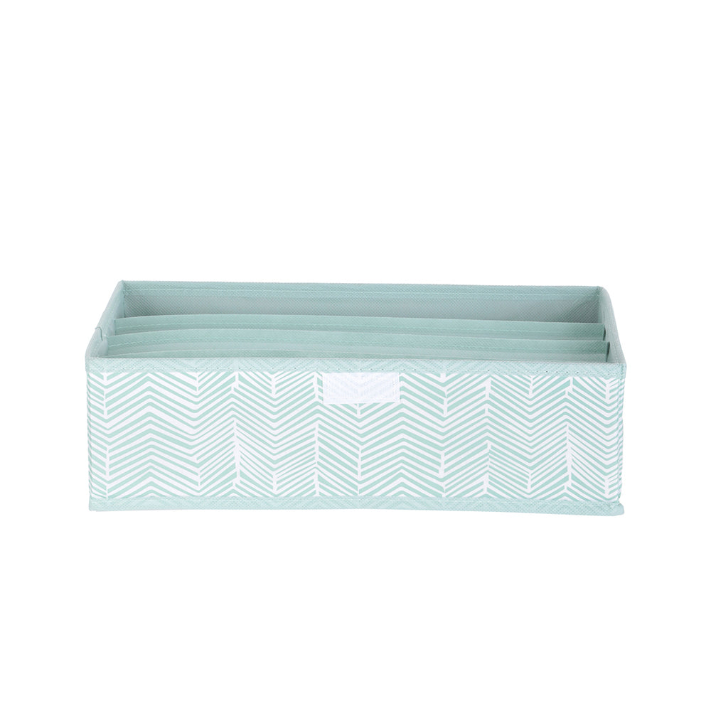 MINISO 4 Compartment Underwear Organizer With Lid