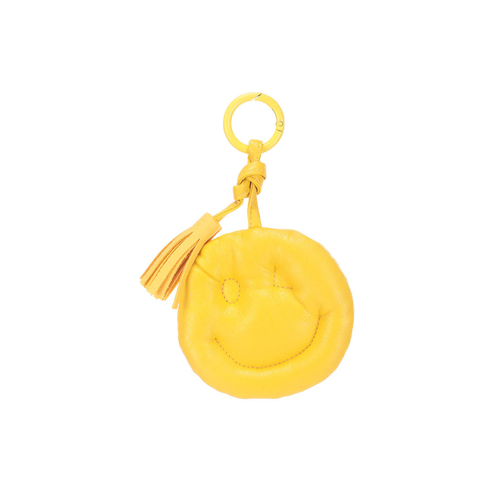 MINISO Fruit Series - Happy Face Bag Charm,Random color