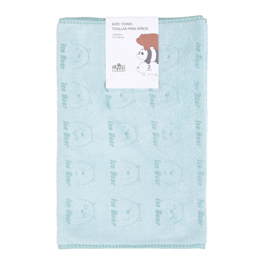 Load image into Gallery viewer, MINISO x We Bare Bears - Soft Cotton Hand Towel, 20 inches x 10 inches