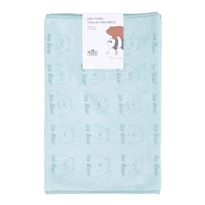 MINISO x We Bare Bears - Soft Cotton Hand Towel, 20 inches x 10 inches