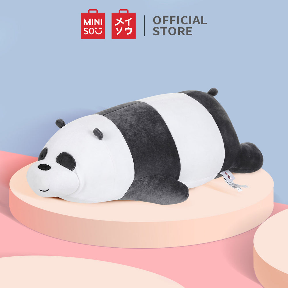 MINISO x We Bare Bears - Large Lying Plush Toy - Panda