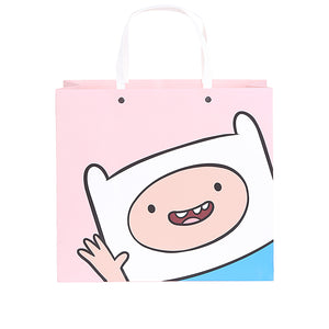 MINISO x Adventure Time - Square Gift Bag Holiday Paper Bags with Handles