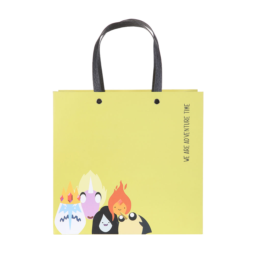 MINISO x Adventure Time - Small Square Paper Bags with Handles