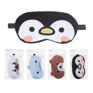 MINISO Glacier Series - Embroidered Eye Mask (Random Colour)