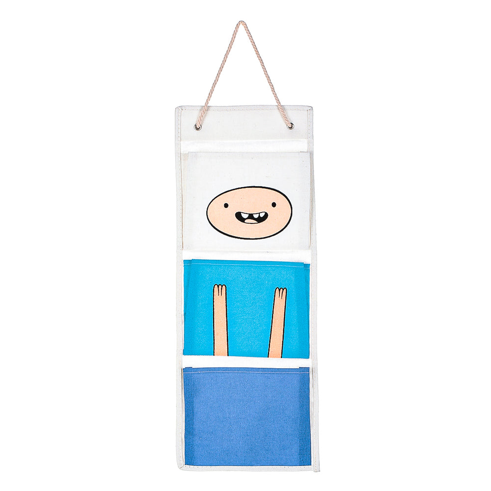 MINISO Adventure Time Door Wall Hanging Organizer, Blue