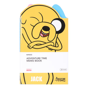 MINISO x Adventure Time - Memo Book 20 Sheets (3 Pack)