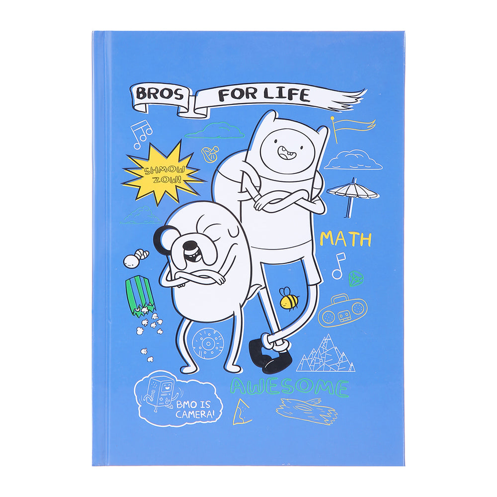 MINISO x Adventure Time - Graffiti Memo Book, 110 Sheets, Random Style