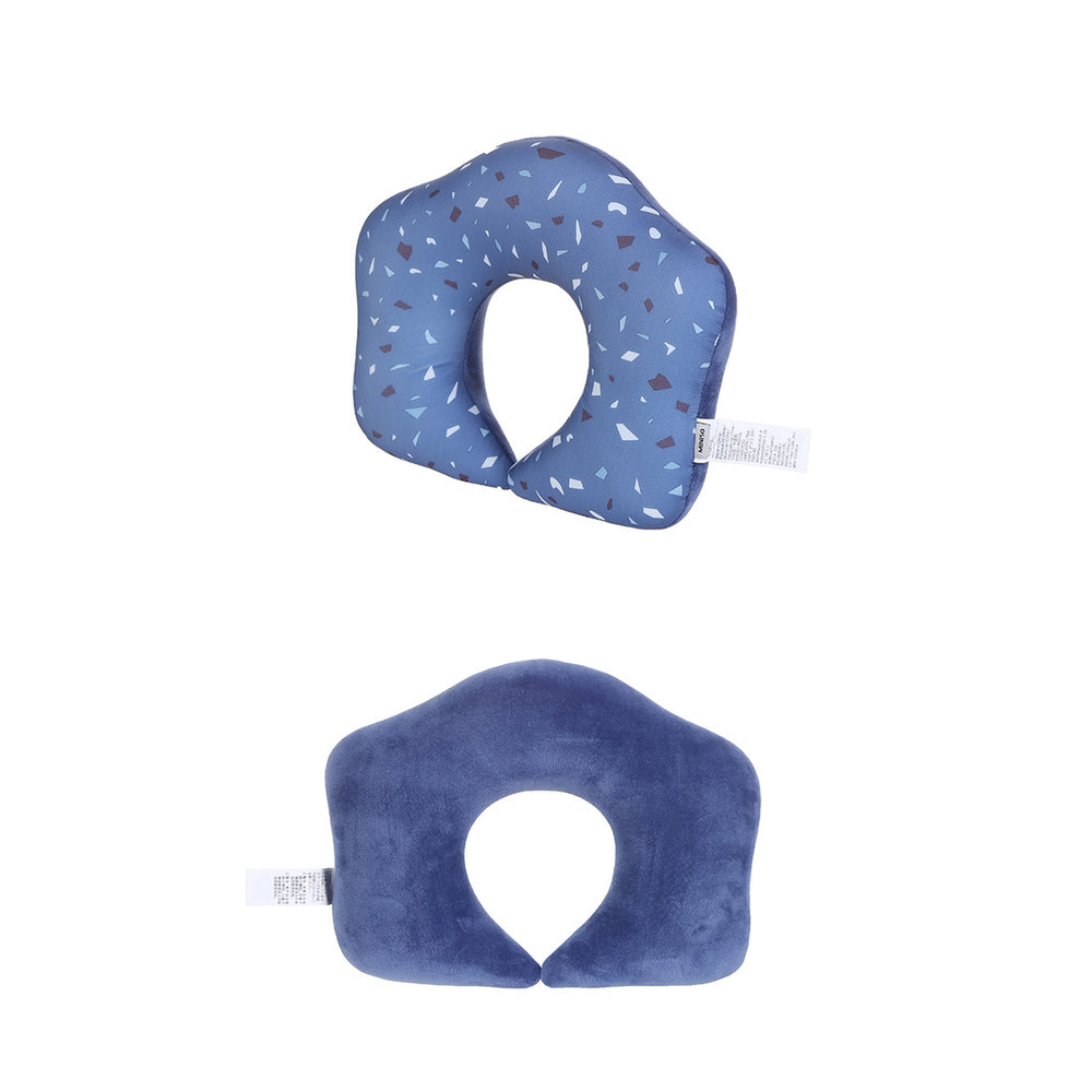 MINISO Interesting U-shaped Neck Pillow, Dark Blue