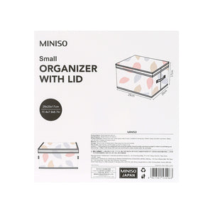 Load image into Gallery viewer, MINISO Small Foldable Fabric Storage Box with Lid
