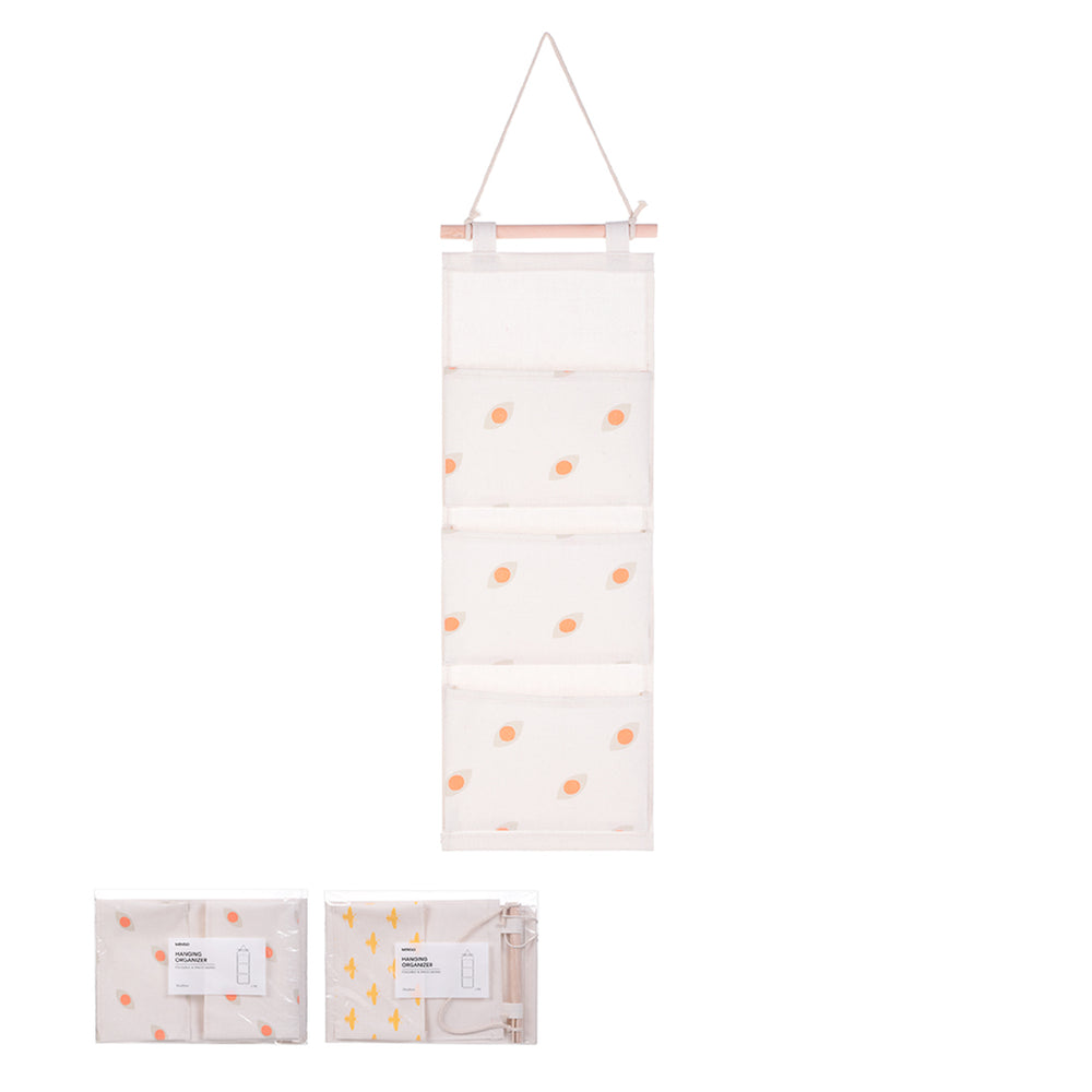 Load image into Gallery viewer, MINISO 3-compartment Hanging Multipurpose Organizer