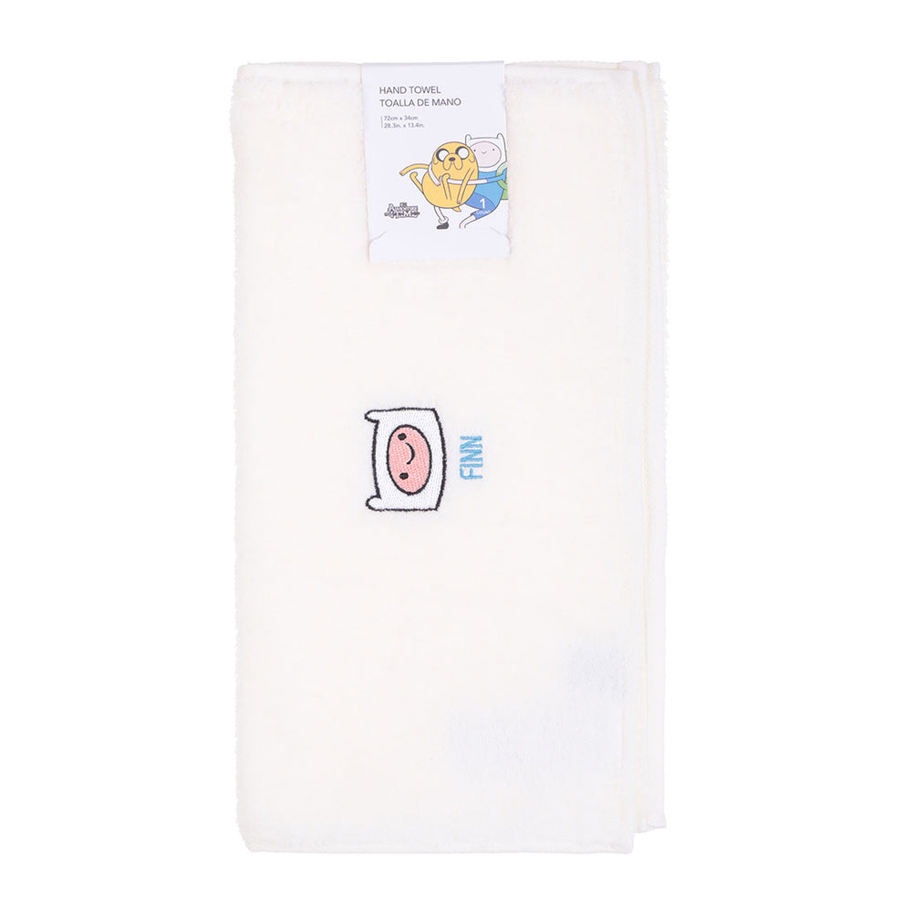 MINISO x Adventure Time - Soft Cotton Hand Towel, 28 inches x 13 inches
