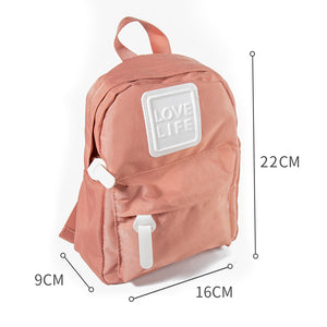 MINISO Small Backpack (Pink)