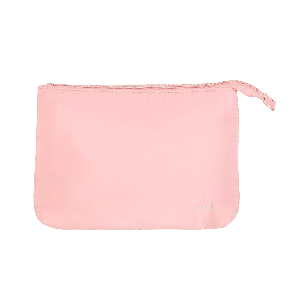 Charger l'image dans la galerie, MINISO Transparent Waterproof Bathroom Cosmetic Bags, Pink