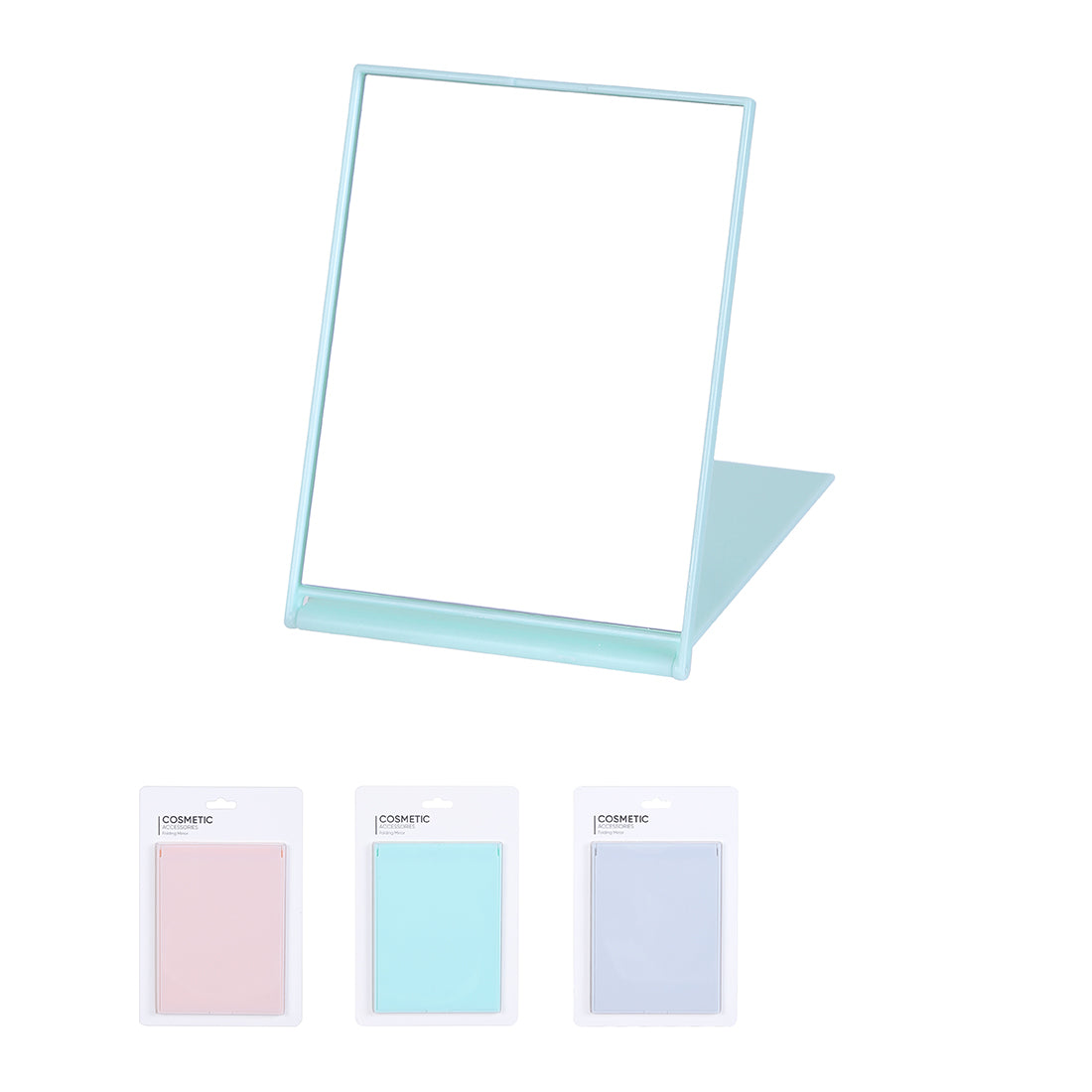 MINISO Candy Color Folding  Portable Square Mirror