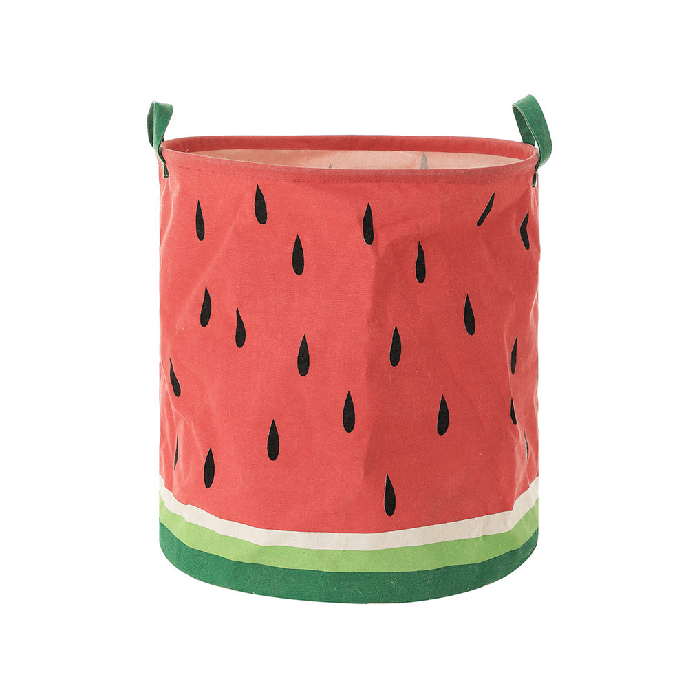 MINISO Fruit Series - Large Storage Basket Foldable Basket Organizer, Watermelon