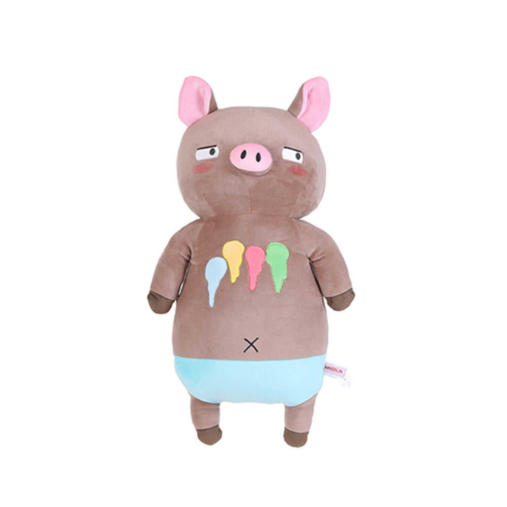 MINISO Large Cute Standing Mr. Piggy Plush Toy