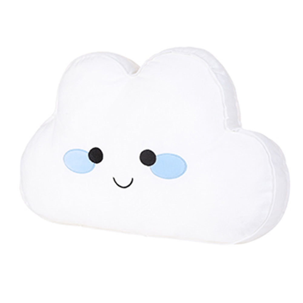 MINISO Cute Cloud-shaped Throw Pillow (White)