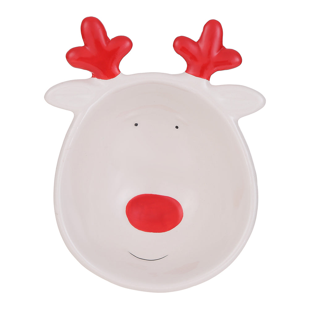 MINISO Christmas Series - Reindeer Table Decorative Bowl