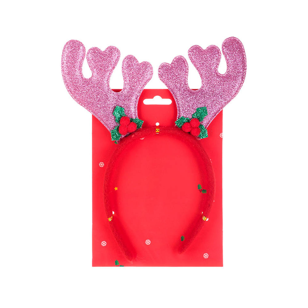 MINISO Christmas Deer Hair Band for Kids, Random Color