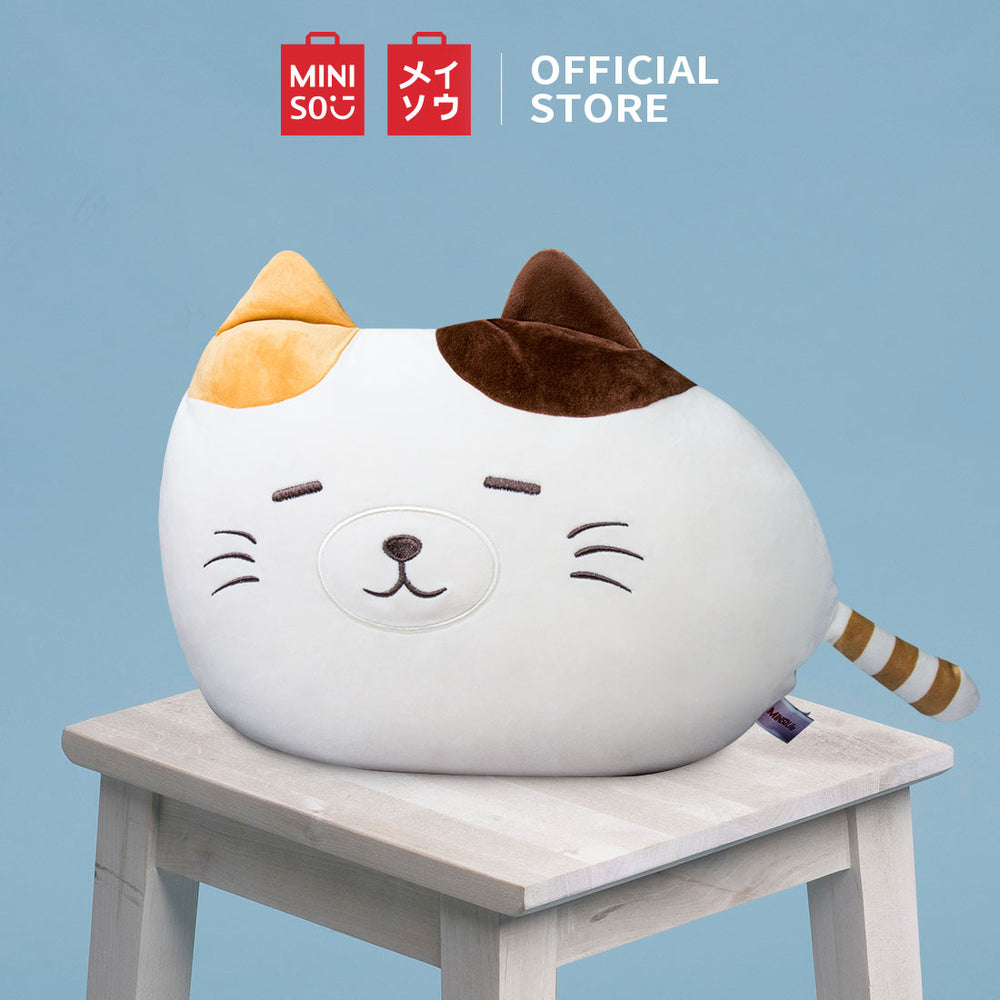 MINISO Kitten Plush Pillow