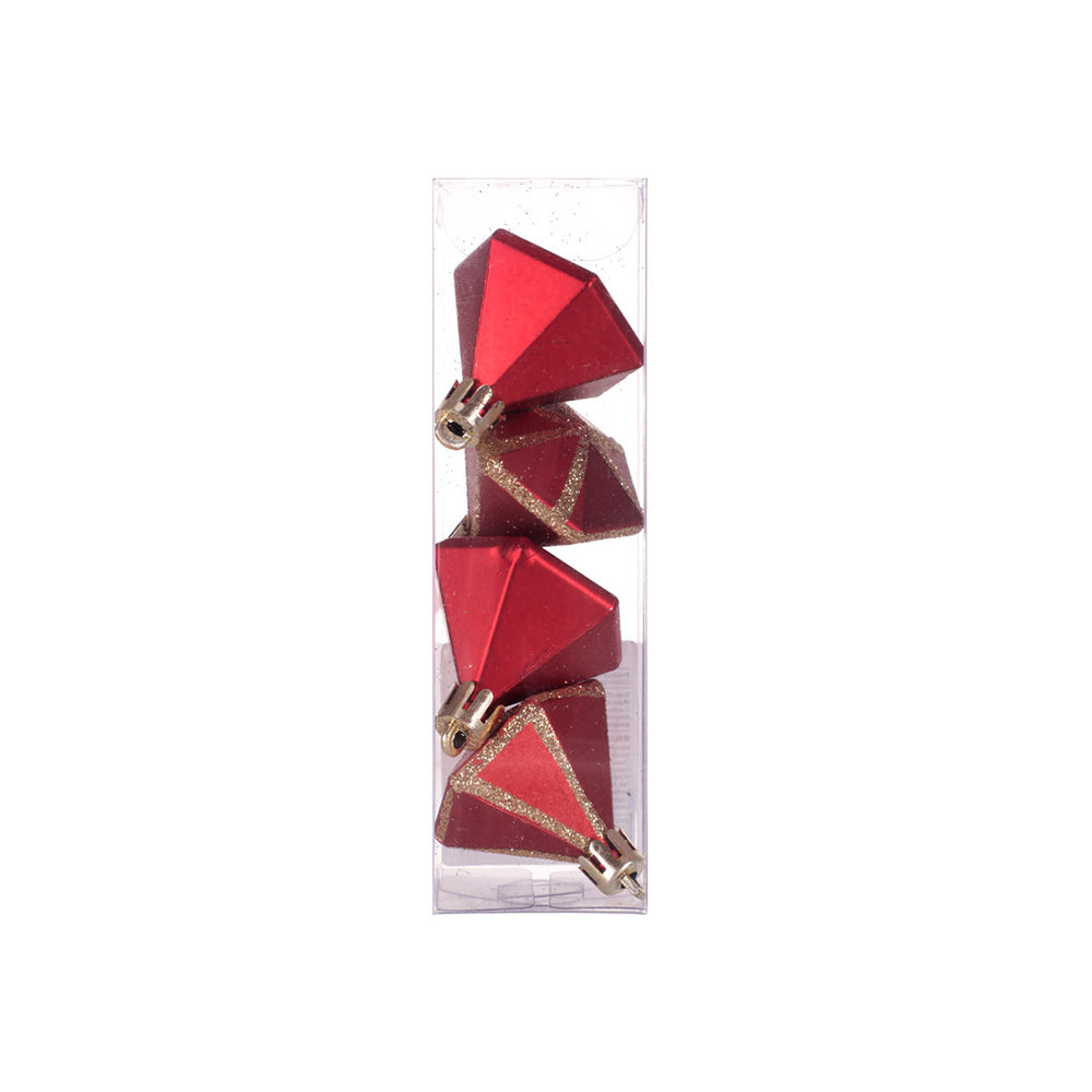MINISO Christmas Tree Triangular Ornaments Decoration