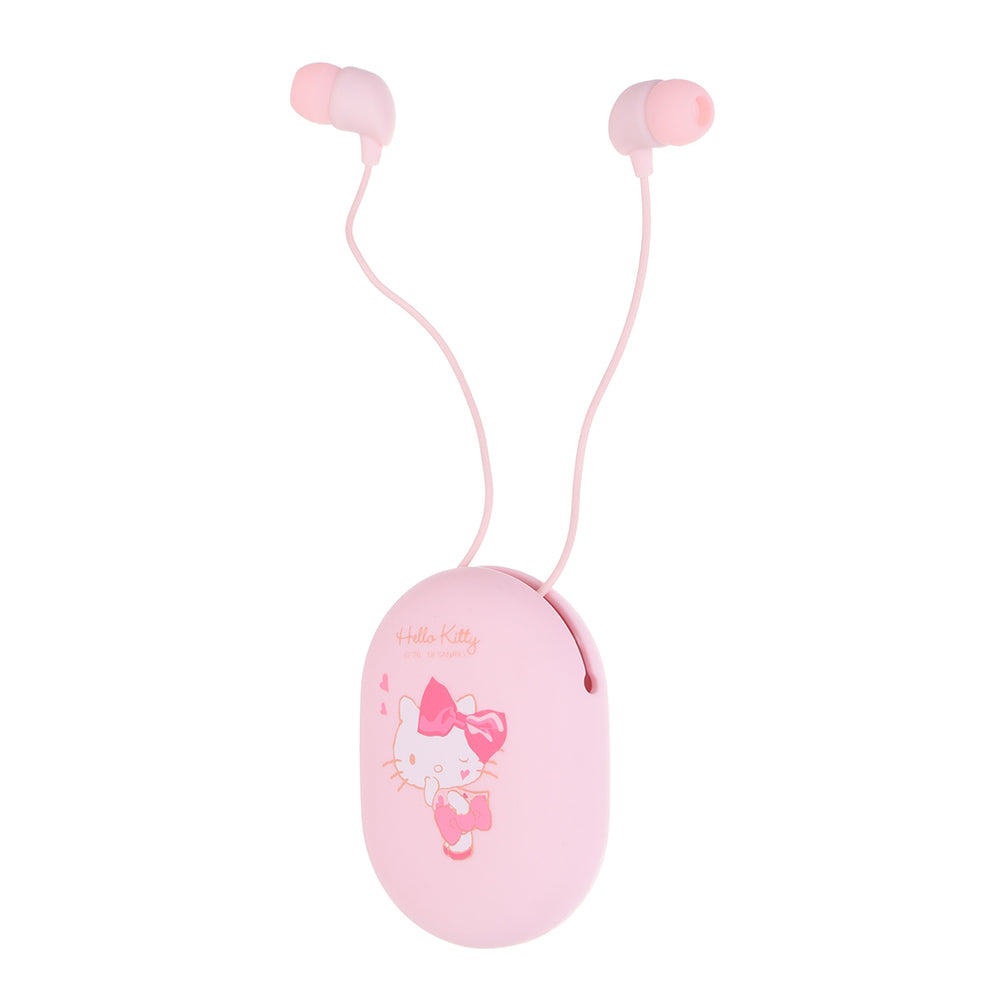 MINISO x Sanrio - Hello Kitty Noise Cancellation Earbuds With Mic and Cute Container