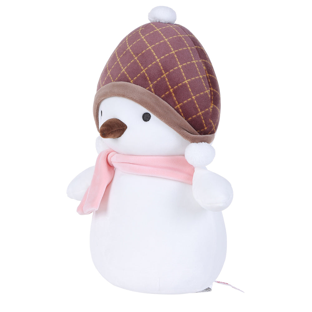 MINISO Christmas Penguin Plush Toy with Beanie