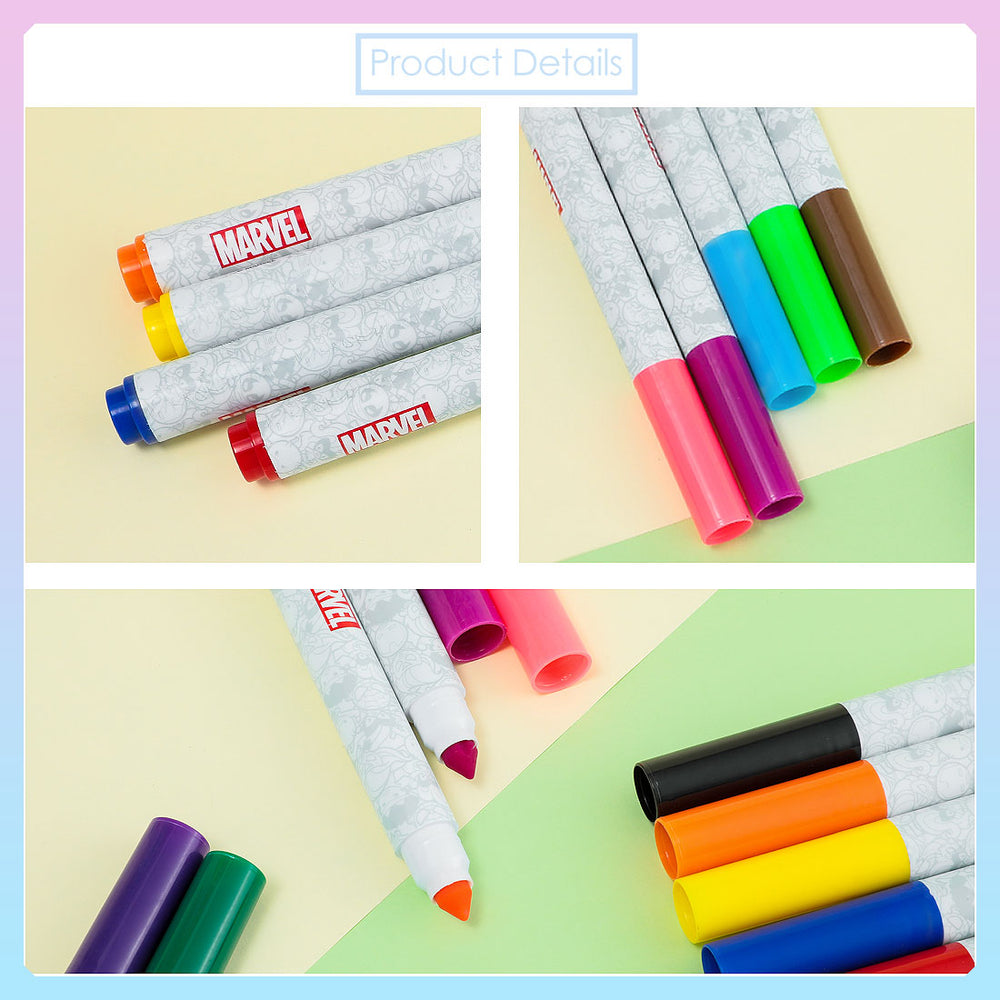 MINISO x Marvel - Watercolor Pen Set (Pack of 12)