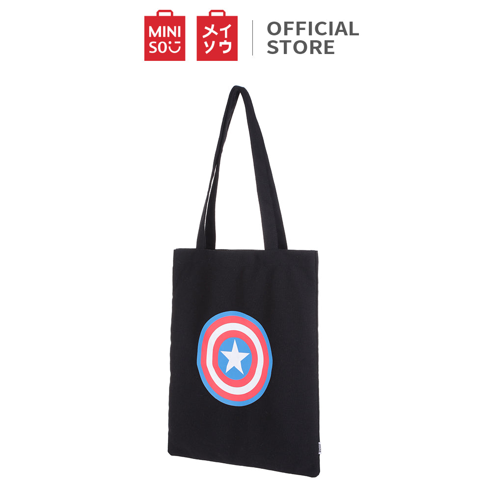 MINISO x MARVEL Canvas Shopping Bag - Icon