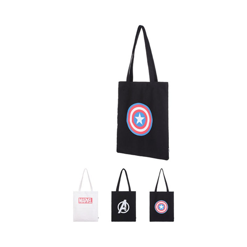 MINISO x MARVEL Canvas Tote Bag - Random Colors