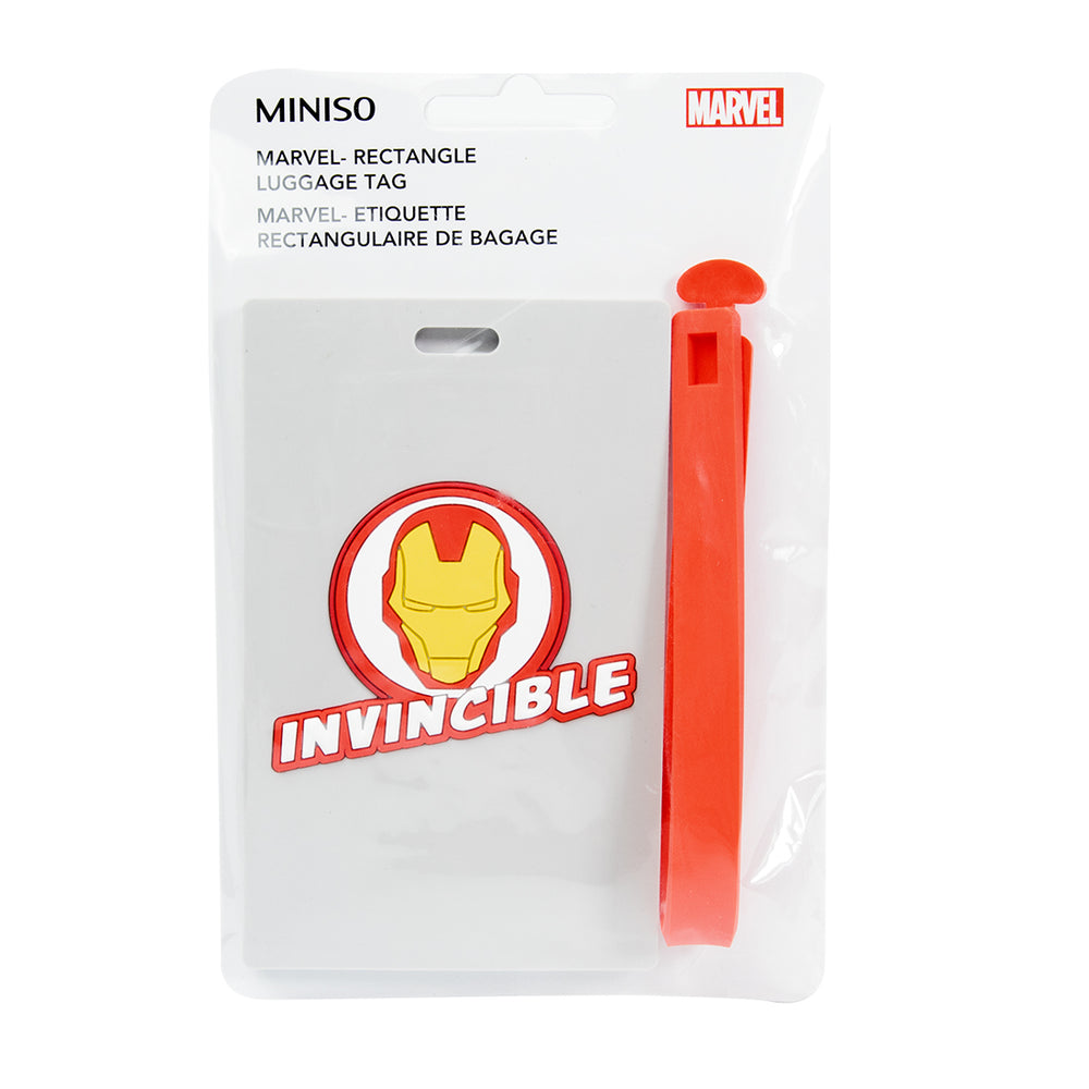 MINISO x Marvel - Luggage Tag for Suitcase - Light Grey