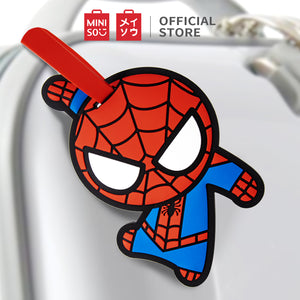 MINISO x Marvel - Avengers Superhero ID Luggage Tag - Spiderman