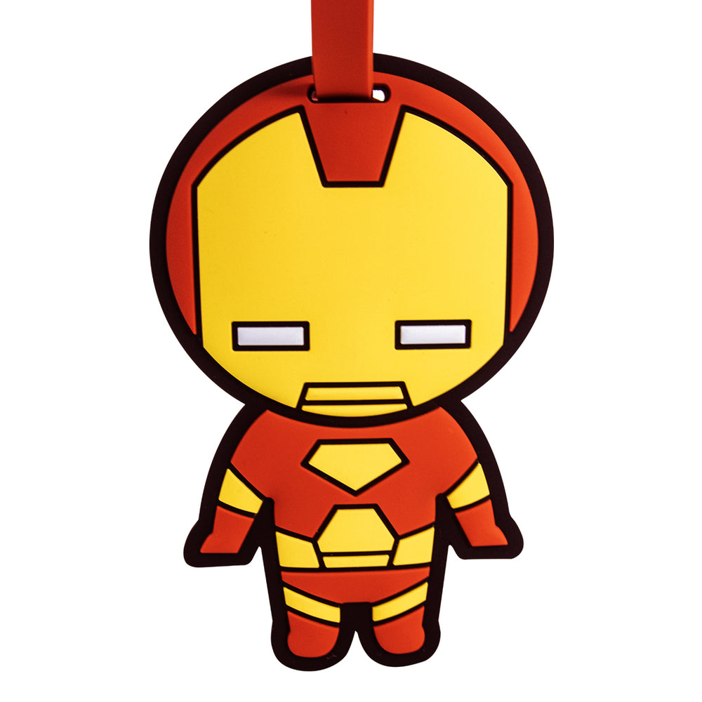 MINISO x Marvel - Avengers Superhero ID Luggage Tag - Iron Man