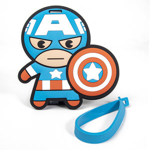 Load image into Gallery viewer, MINISO x Marvel - Avengers Superhero ID Luggage Tag - Captain America