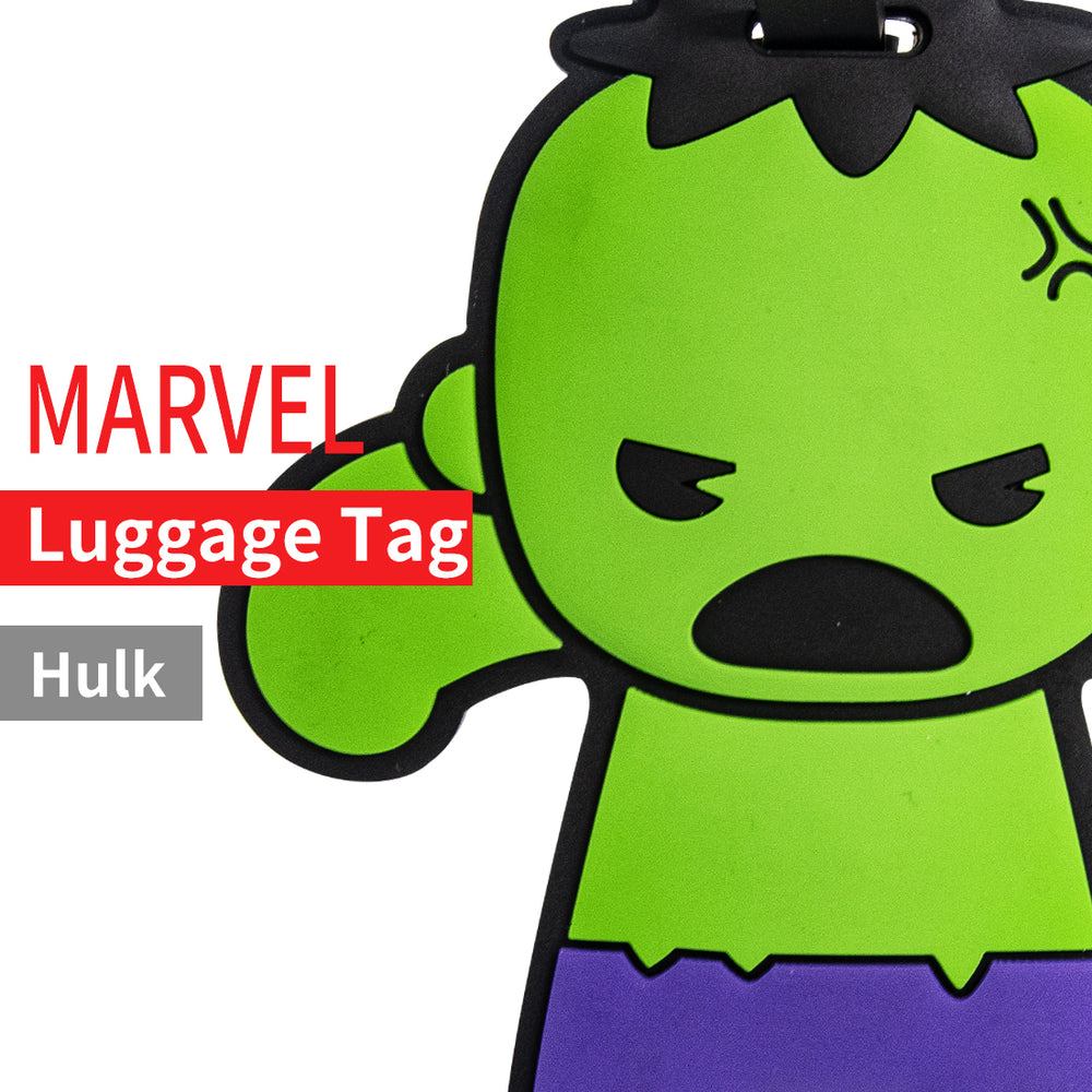 Load image into Gallery viewer, MINISO x Marvel - Avengers Superhero ID Luggage Tag - Hulk