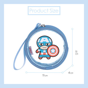 MINISO x MARVEL - Transparent Coin Purse