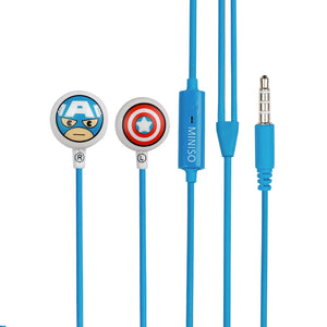 MINISO x MARVEL - Comfortable Earbuds (Captain America)