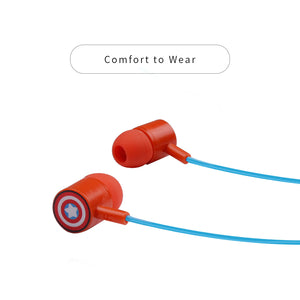 MINISO x MARVEL - HF231 Earphones, Captain America