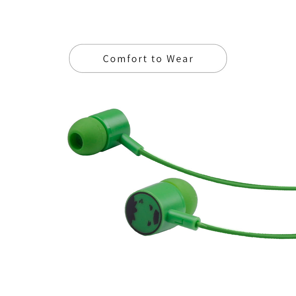MINISO x Marvel - In-ear Headphones With Mic with storage bag