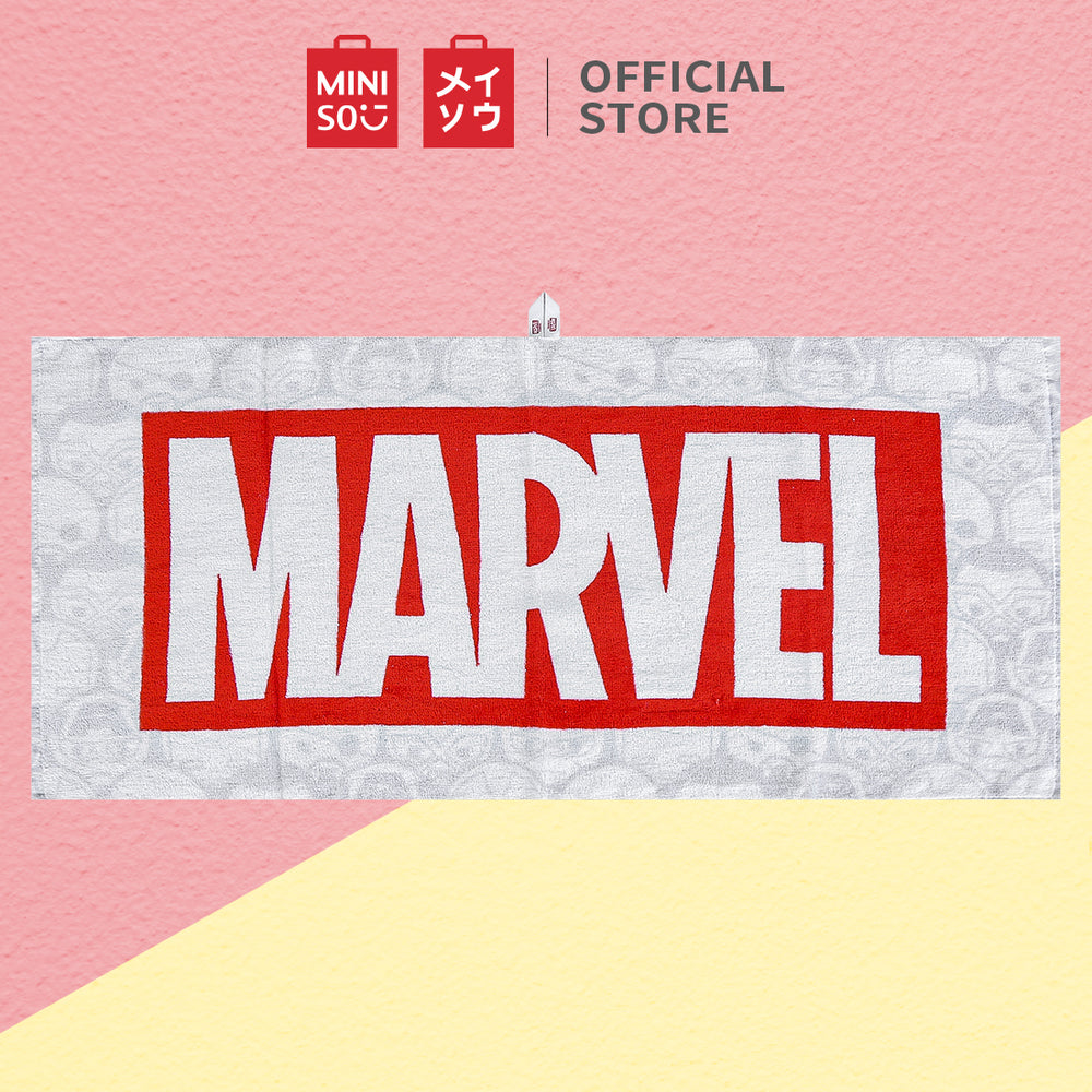 MINISO x Marvel - Soft Towels with Logo