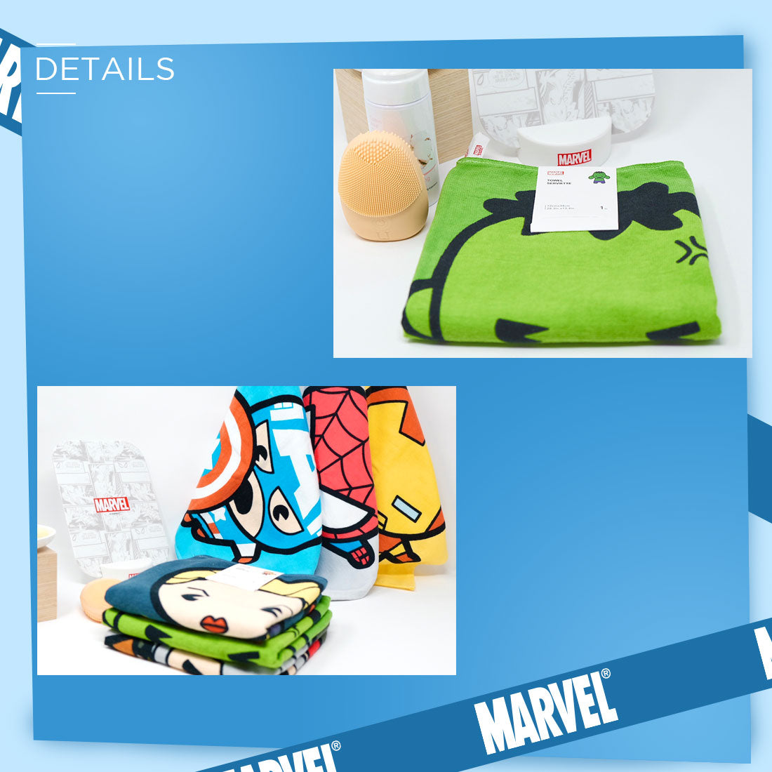 MINISO x Marvel - Soft Cotton Towels